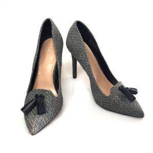 3 for $40! Apt. 9 Tweed Tasseled Pointed Toe Heels